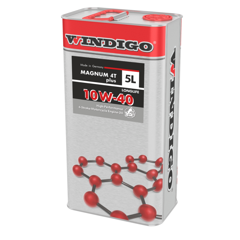 Motorcycle oil WINDIGO Magnum 4T plus SAE 10W-40